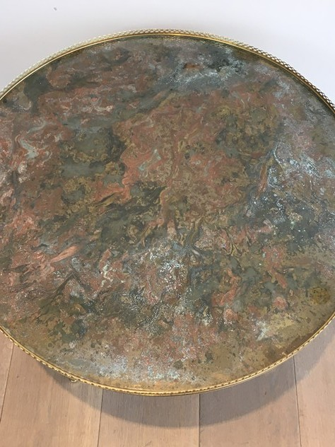 Attrib. to Maison Ramsay. Brass Round Coffee Table-barrois-antiques-50's-26170_main_636540619380781174.JPG