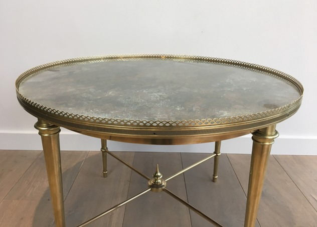 Attrib. to Maison Ramsay. Brass Round Coffee Table-barrois-antiques-50's-26172_main_636540620032894614.JPG