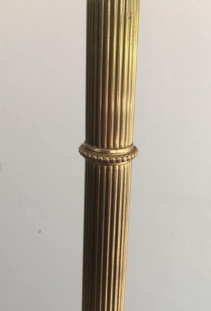 Neoclassical Tripod Brass Floor Lamp-barrois-antiques-50's-26324_main_636571504828350966.JPG