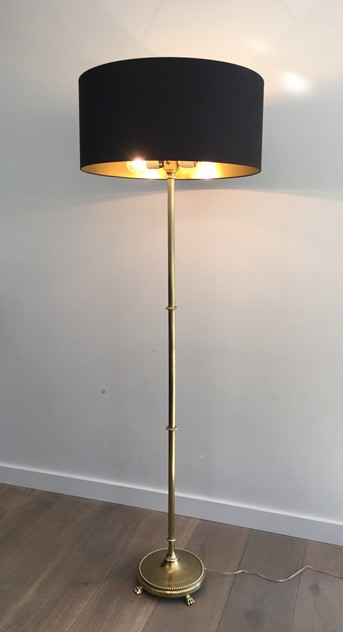 Brass Floor Lamp with Claw Feet -barrois-antiques-50's-26345_main_636567218505784097.JPG