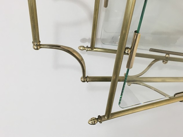 Brass & Glass Neoclassical Magazine Rack-barrois-antiques-50's-26447_main_636565479702488228.JPG