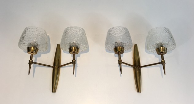 Pair Bronze Sconces with Worked Glass -barrois-antiques-50's-26464-main-636573080684365023.JPG