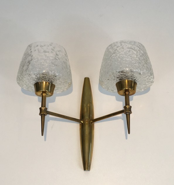 Pair Bronze Sconces with Worked Glass -barrois-antiques-50's-26466-main-636573080782494055.JPG