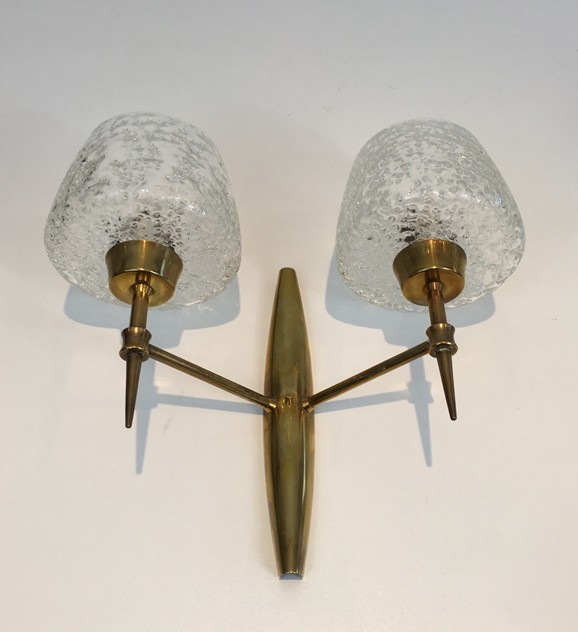 Pair Bronze Sconces with Worked Glass -barrois-antiques-50's-26467-main-636573080892635703.JPG