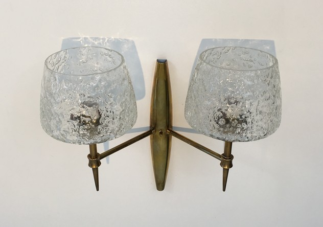Pair Bronze Sconces with Worked Glass -barrois-antiques-50's-26468-main-636573081008393639.JPG