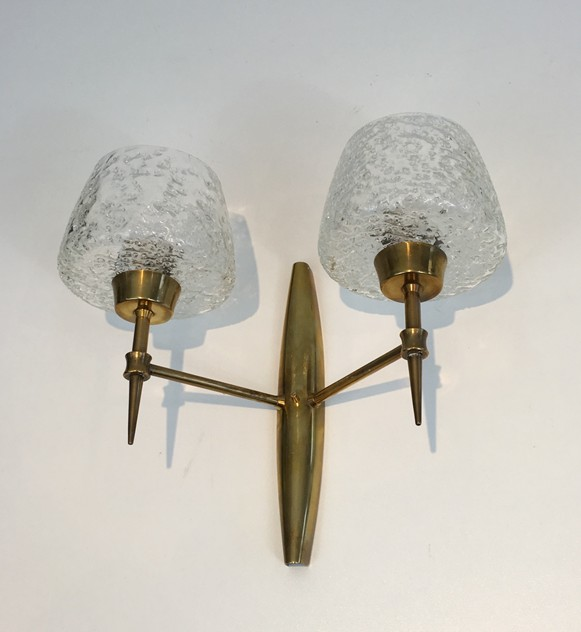Pair Bronze Sconces with Worked Glass -barrois-antiques-50's-26469-main-636573081128675807.JPG