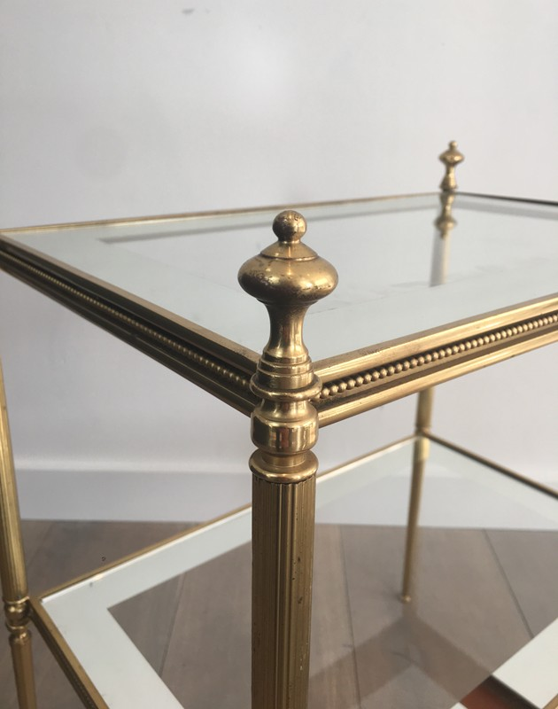 Pair of Brass Side Tables with Clear Glass-barrois-antiques-50's-26810-main-636594053692778638.JPG