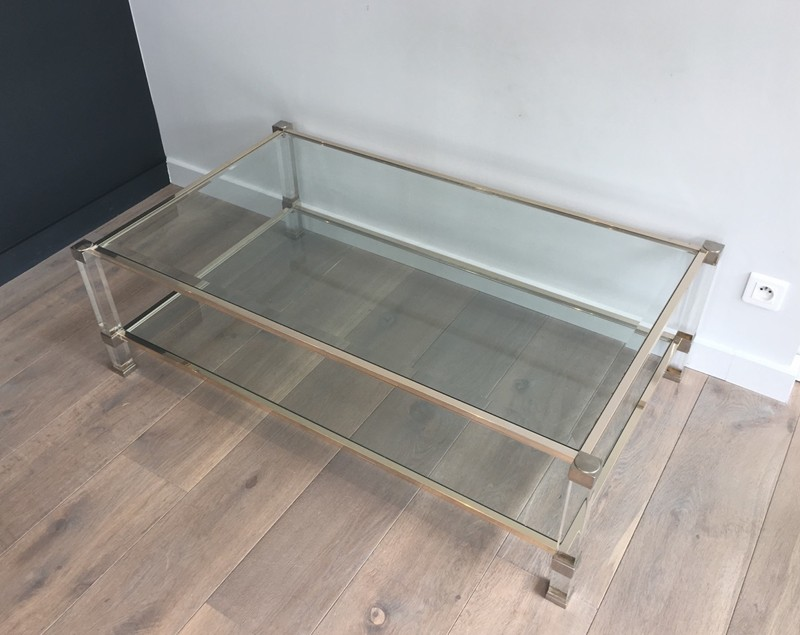 Large Acrylic and chrome Coffee Table. French.-barrois-antiques-50's-28409-main-636644871265020998.JPG