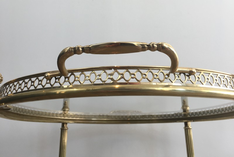 Neoclassical Brass Round Trolley. French-barrois-antiques-50's-28922-main-636662068319538743.JPG