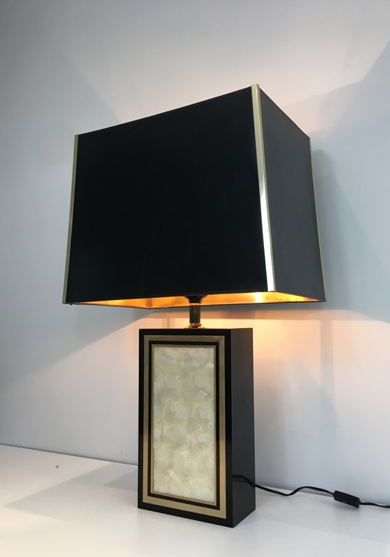 Tall Lacquered Wood Gild and Nacre Table Lamp.-barrois-antiques-50's-28928-main-636662071649528477.JPG