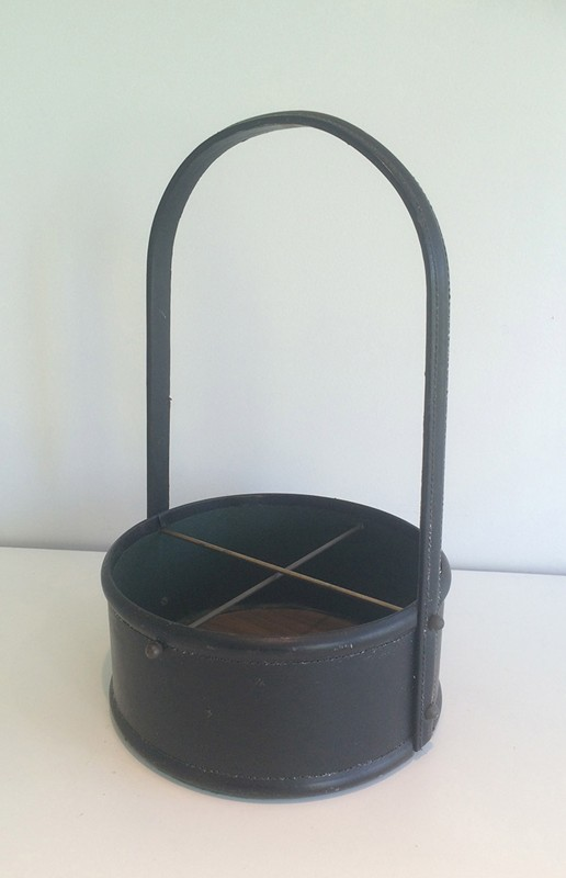 Bottle holder in the style of Jacques Adnet-barrois-antiques-50's-29335-main-636706246368865428.jpg
