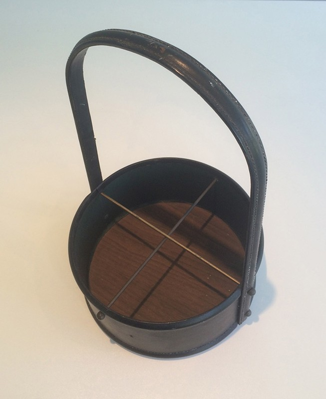 Bottle holder in the style of Jacques Adnet-barrois-antiques-50's-29339-main-636706246772458124.jpg