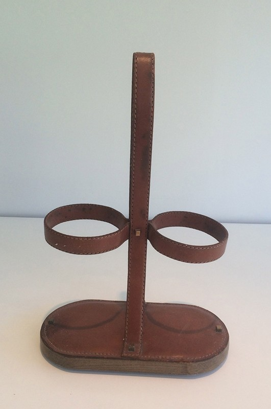 Delvaux (signed) Leather Bottle Holder-barrois-antiques-50's-29379-main-636674975917551175.jpg