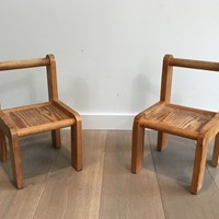 Unusual Small children Chairs. Circa 1970