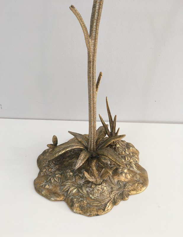 Bronze element Representing a Sunflower-barrois-antiques-50's-30050-main-636764185794456425.JPG