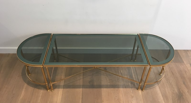 3 Parts Gold Gilt Nickel Coffee Table -barrois-antiques-50's-30103-main-636776061450028266.JPG