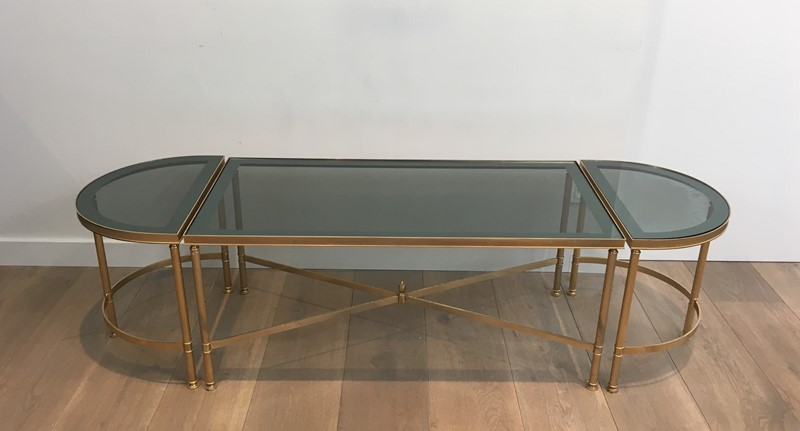 3 Parts Gold Gilt Nickel Coffee Table -barrois-antiques-50's-30105-main-636776061660575363.JPG