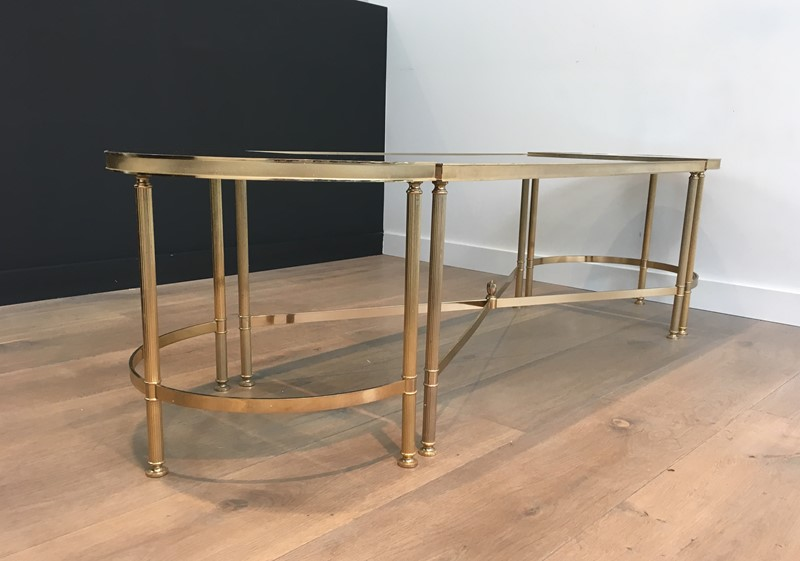 3 Parts Gold Gilt Nickel Coffee Table -barrois-antiques-50's-30107-main-636776061701668840.JPG