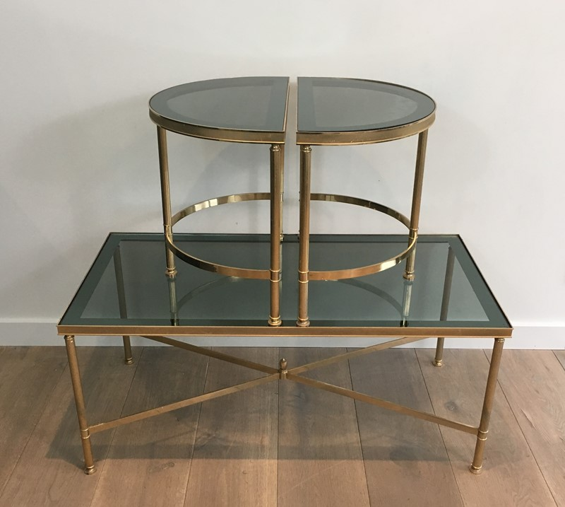 3 Parts Gold Gilt Nickel Coffee Table -barrois-antiques-50's-30121-main-636776061875055645.JPG
