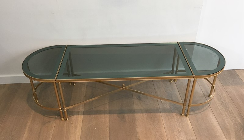 3 Parts Gold Gilt Nickel Coffee Table -barrois-antiques-50's-30124-main-636776061933336547.JPG