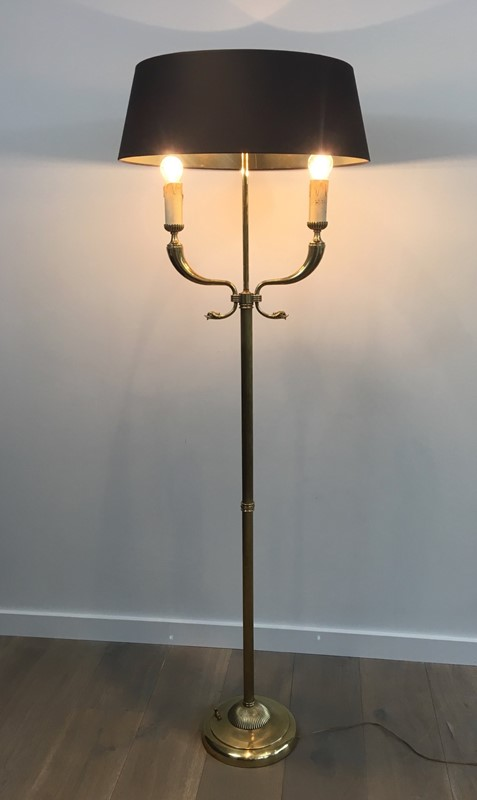 Brass Floor lamps with Dolfinheads.-barrois-antiques-50's-30255-main-636778692774629302.jpg