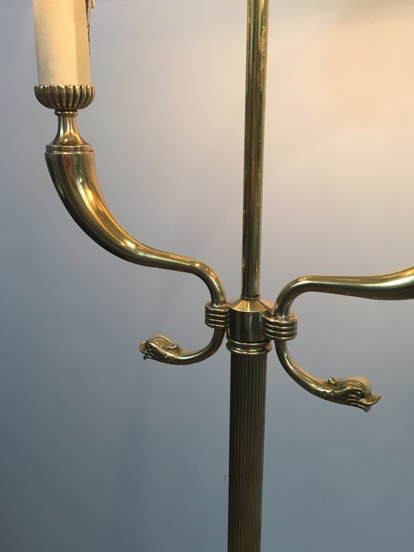 Brass Floor lamps with Dolfinheads.-barrois-antiques-50's-30265-main-636778692941194320.jpg