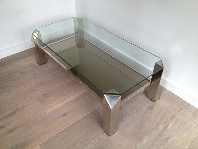 Chrome coffee table. Circa 1970-barrois-antiques-50's-3592_main_636278603263520676.jpg