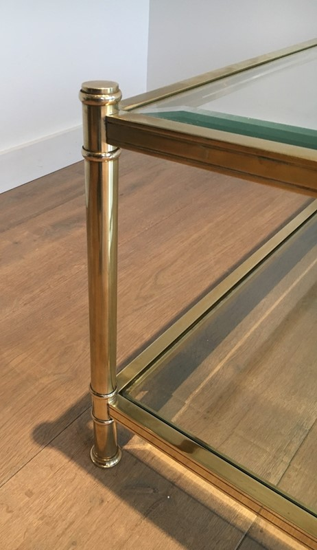 Square Brass Coffee Table. French. Circa 1970-barrois-antiques-50s-22895-main-637285156639436914.jpg