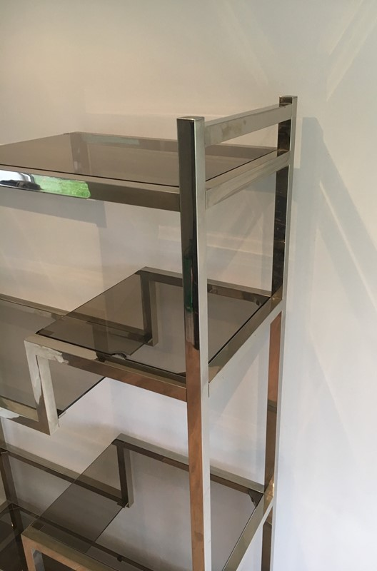 In the Style of Willy Rizzo Design Shelves Unit-barrois-antiques-50s-24095-main-636806666459410108.jpg