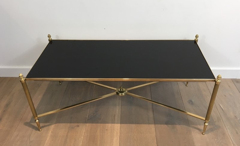 Attr. to Maison Bagués. Brass Coffee Table-barrois-antiques-50s-27901-main-637279012345795994.JPG