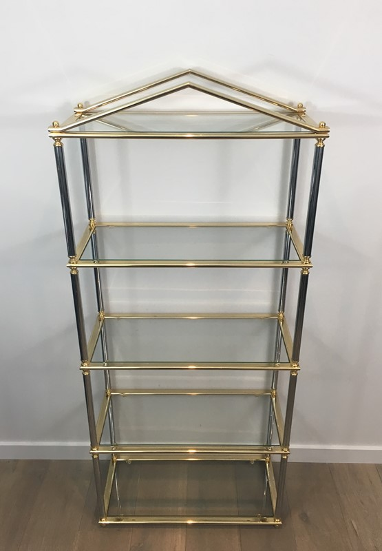 Neo-classical style Gun Metal & Gold Gilt Shelves-barrois-antiques-50s-30795-main-636794362625052628.JPG