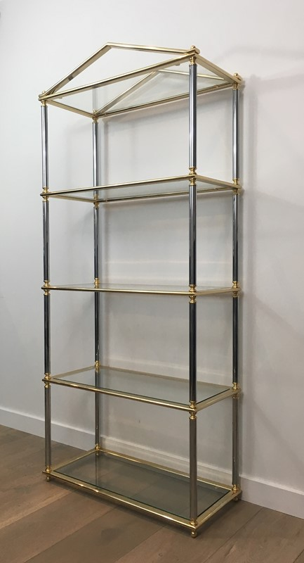 Neo-classical style Gun Metal & Gold Gilt Shelves-barrois-antiques-50s-30798-main-636794362839624685.JPG