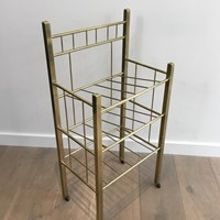 Brass Magazine Rack(Brass is damaged on a foot).
