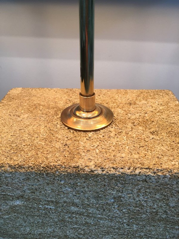 Reconstituted Stone & Brass Adjustable Table Lamp-barrois-antiques-50s-31304-main-636827218852508760.JPG