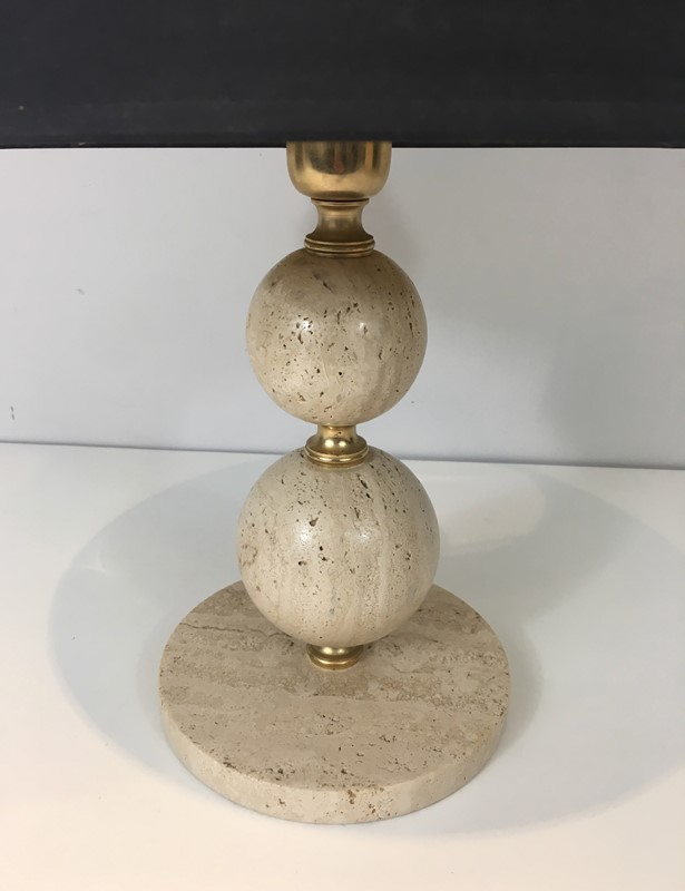 Travertin and Brass table Lamp. Black Shintz Gilt-barrois-antiques-50s-31355-main-636824557392168716.jpg