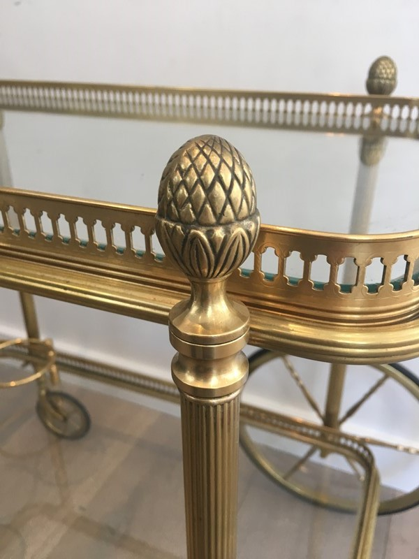Bagués. Neoclassical Style Brass Drinks Trolley-barrois-antiques-50s-32101-main-636897080454105954.JPG