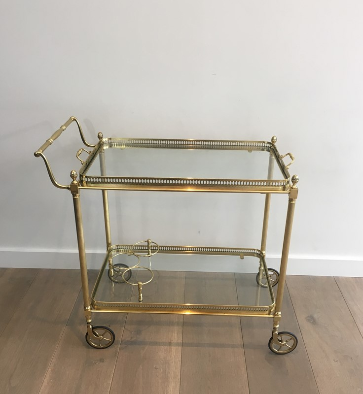 Neoclassical Brass Trolley with 2 Removable Trays-barrois-antiques-50s-32341-main-637097058308600475.JPG