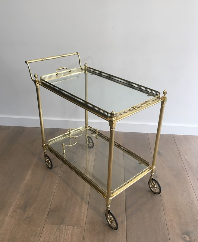Neoclassical Brass Trolley with 2 Removable Trays-barrois-antiques-50s-32342-main-637097058470787746.JPG