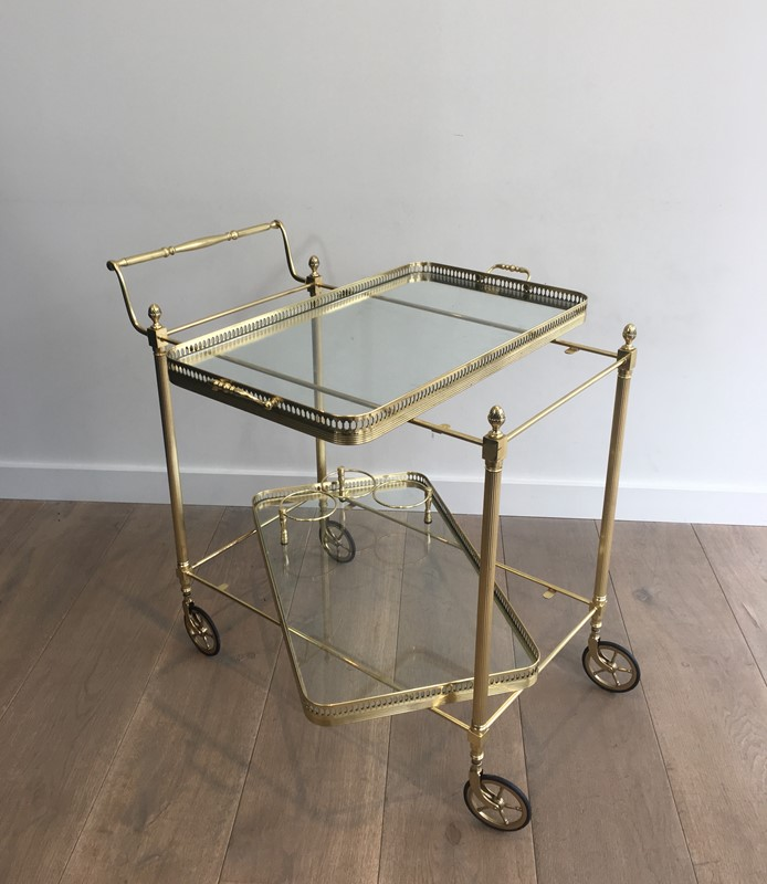 Neoclassical Brass Trolley with 2 Removable Trays-barrois-antiques-50s-32343-main-637097058934783804.JPG