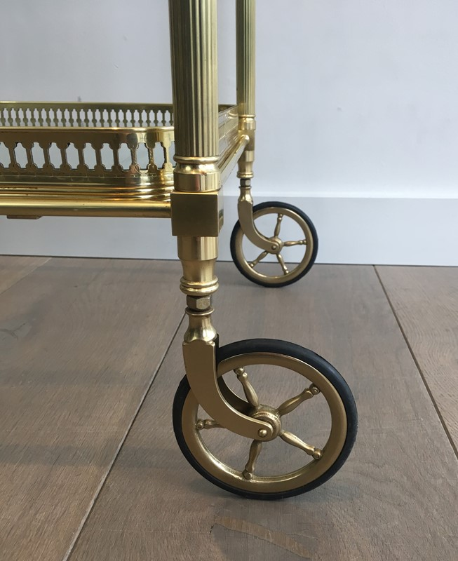 Neoclassical Brass Trolley with 2 Removable Trays-barrois-antiques-50s-32351-main-637097059137919824.JPG