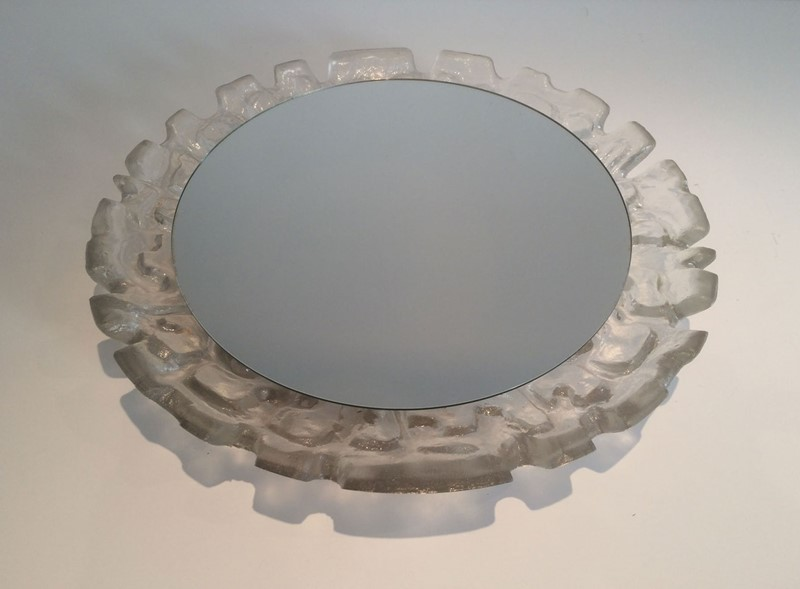 Unusual illuminating Molded Plastic Mirror. Circa-barrois-antiques-50s-32951-main-636891013535893128.jpg