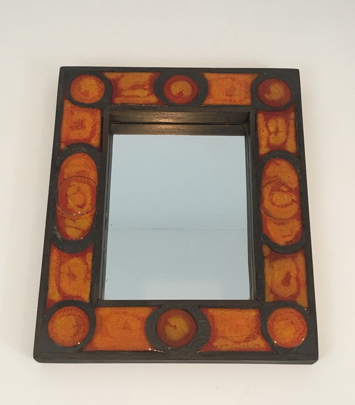 Interesting Ceramic Mirror. French. Circa 1970-barrois-antiques-50s-34683-main-637037855196221632.jpg