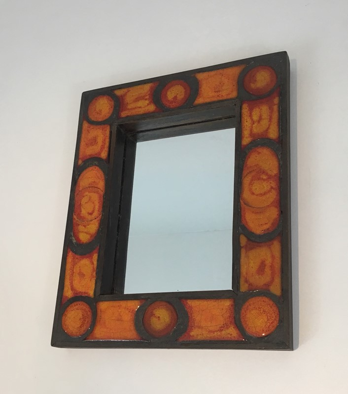 Interesting Ceramic Mirror. French. Circa 1970-barrois-antiques-50s-34695-main-637037857153894762.jpg