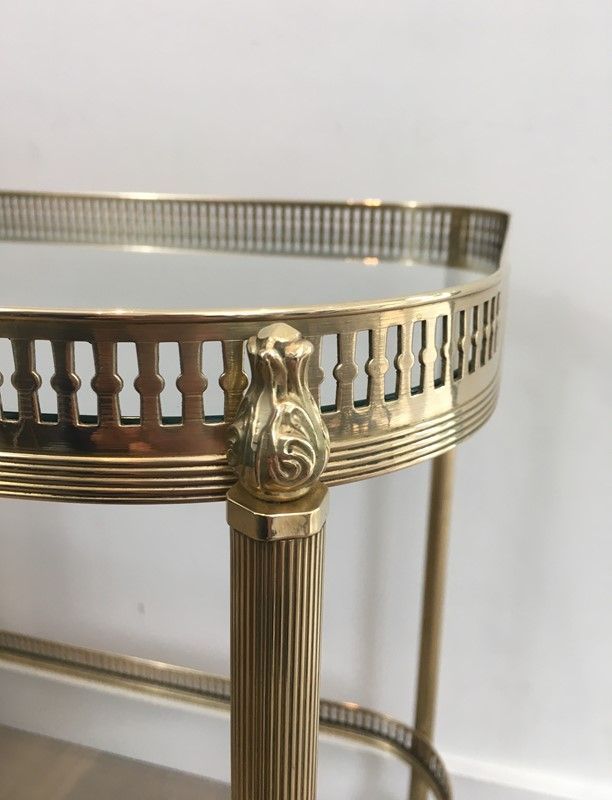 Neoclassical Brass Drinks Trolley. French. 1940's-barrois-antiques-50s-34715-main-637042247695193897.JPG