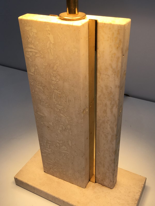 Pair of Travertine and Brass Table Lamps. 1970's-barrois-antiques-50s-34764-main-637042240687866174.jpg