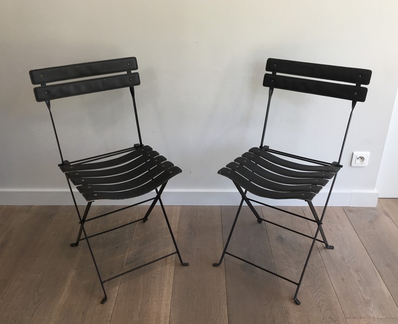 Pair of Black Leather and Metal Chairs. Circa 1950-barrois-antiques-50s-35163-main-637072682188856551.jpg