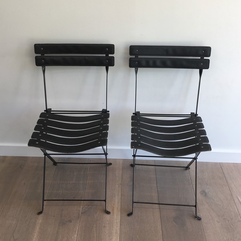 Pair of Black Leather and Metal Chairs. Circa 1950-barrois-antiques-50s-35164-main-637072682454686730.jpg