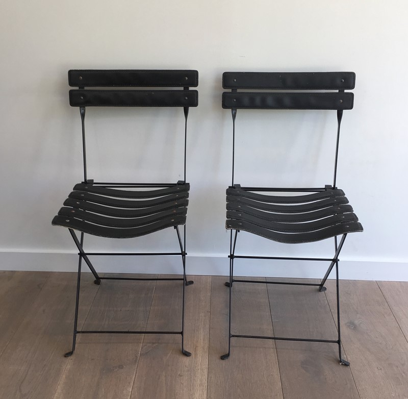 Pair of Black Leather and Metal Chairs. Circa 1950-barrois-antiques-50s-35170-main-637072684077699630.jpg