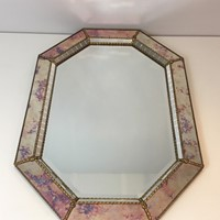 Neoclassical Multi-Faceted Octogonal Mirror