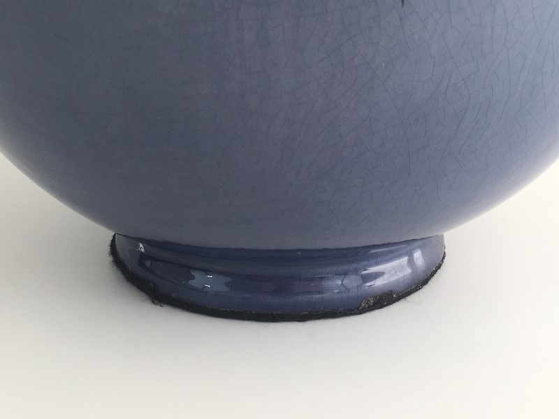 Large Round Blue Ceramic Table Lamp with Shade-barrois-antiques-50s-36891-main-637274659541452730.jpg